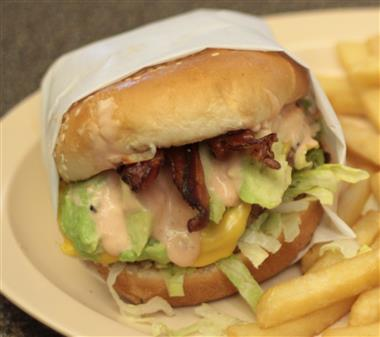 Avocado Bacon Burger Image