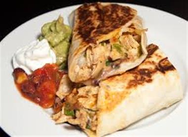 Chicken Burrito Image
