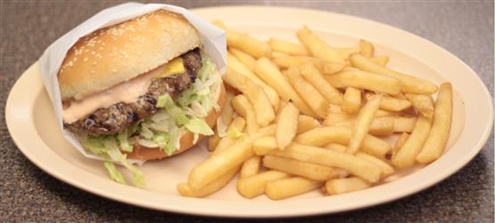 Avocado Bacon Cheeseburger Image