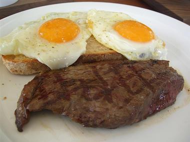 Steak & Eggs Image