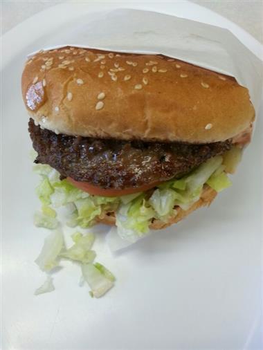 1/4 Hamburger Image
