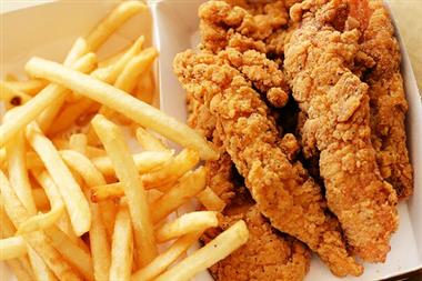 5 Pieces Chicken Tenders Image