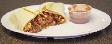 Chorizo Burrito Image