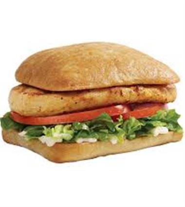 Chicken Breast Sandwich (Grilled) Image