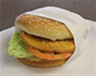 Chicken Pattie Burger (Fried) Image