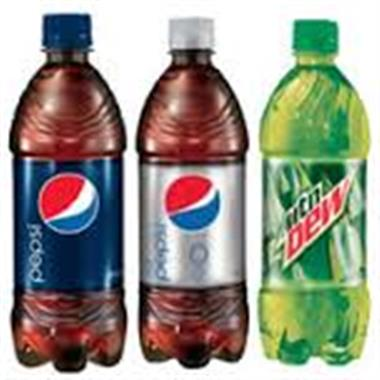 Soft Drink Bottles 20 oz Image