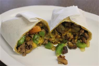 Carne Asada Burrito Image