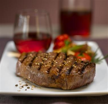 Rib-Eye Steak Dinner Image