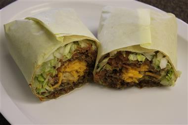 All Beef Burrito Image
