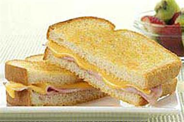 Grilled Ham Cheese Sandwich Image