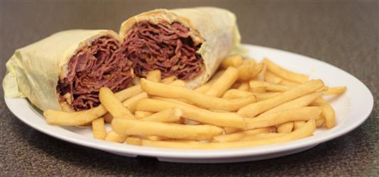 Pastrami Sandwhich Image