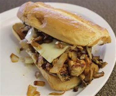 Chicken Teriyaki Sandwich (Grilled) Image