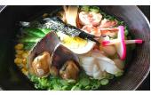 Soy Sauce Seafood Ramen Image