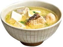 Tofu Salmon Miso Soup Image
