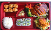 Teriyaki Dinner Bento Box Image
