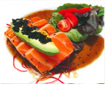 Wild King Salmon Image