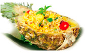 Seafood Pineapple Fried Rice Image