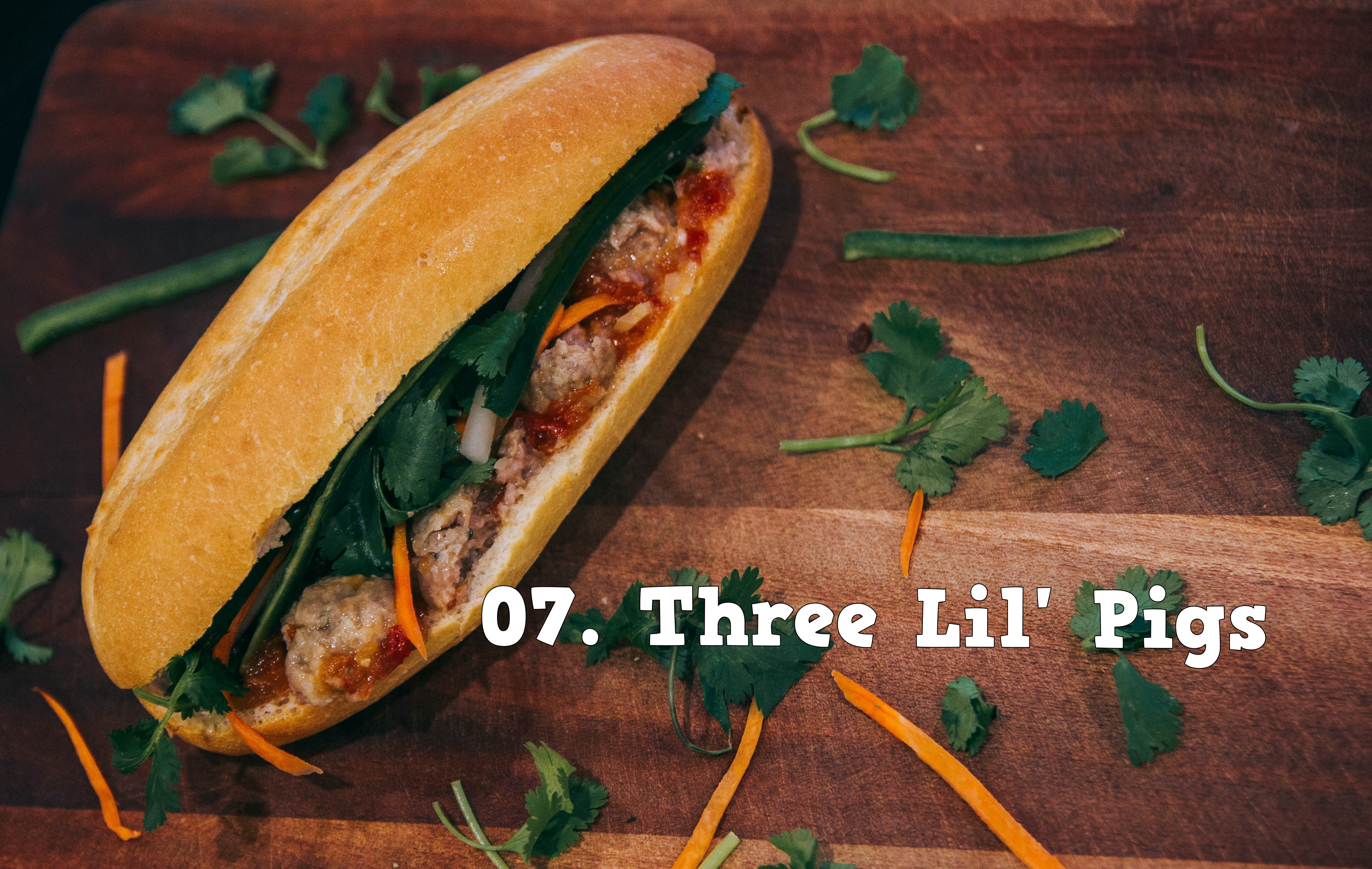 07.Three Lil' Pigs Image