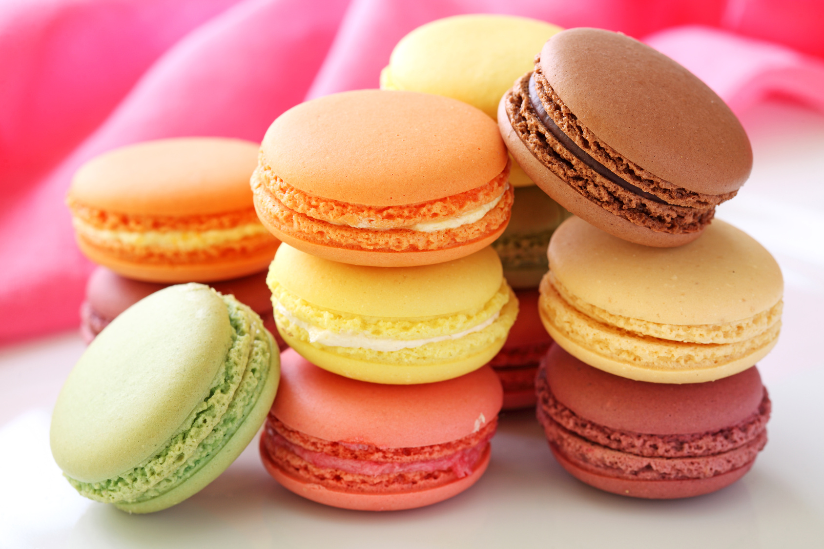 French Macaron Image