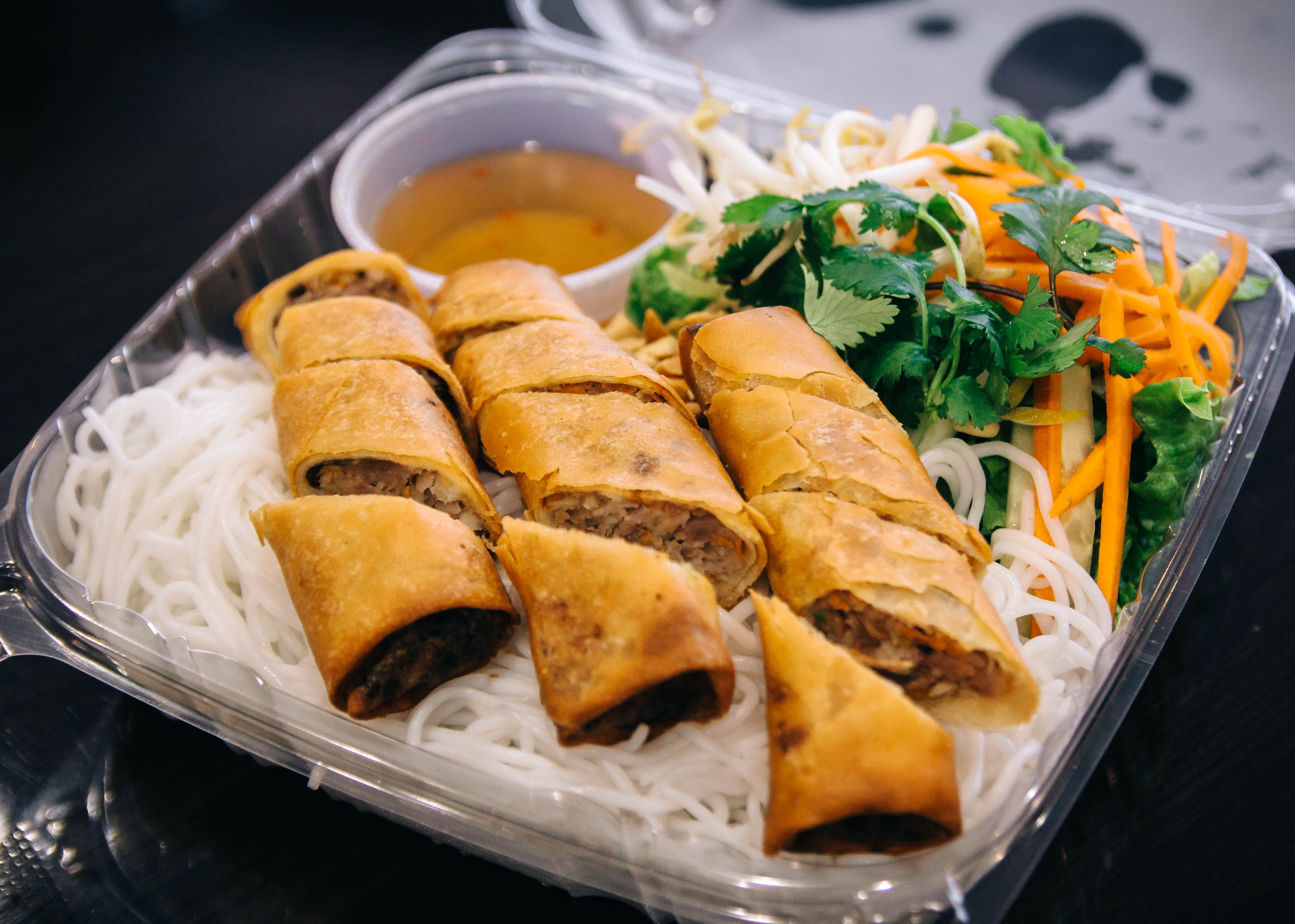 Egg Roll Vermicelli Combo