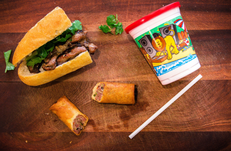 Grilled Pork Sandwich Image