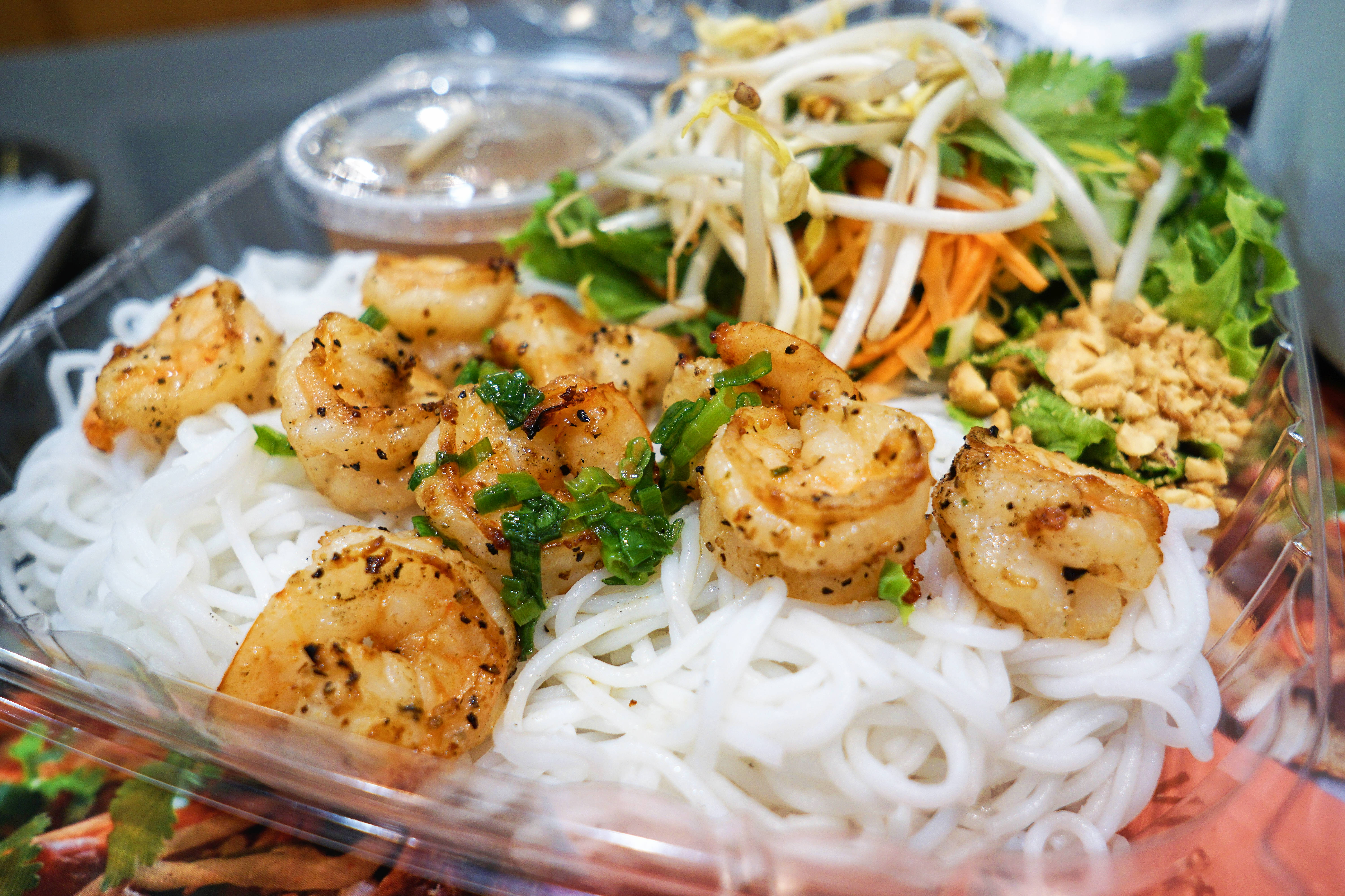 Grill Shrimp Vermicelli Image
