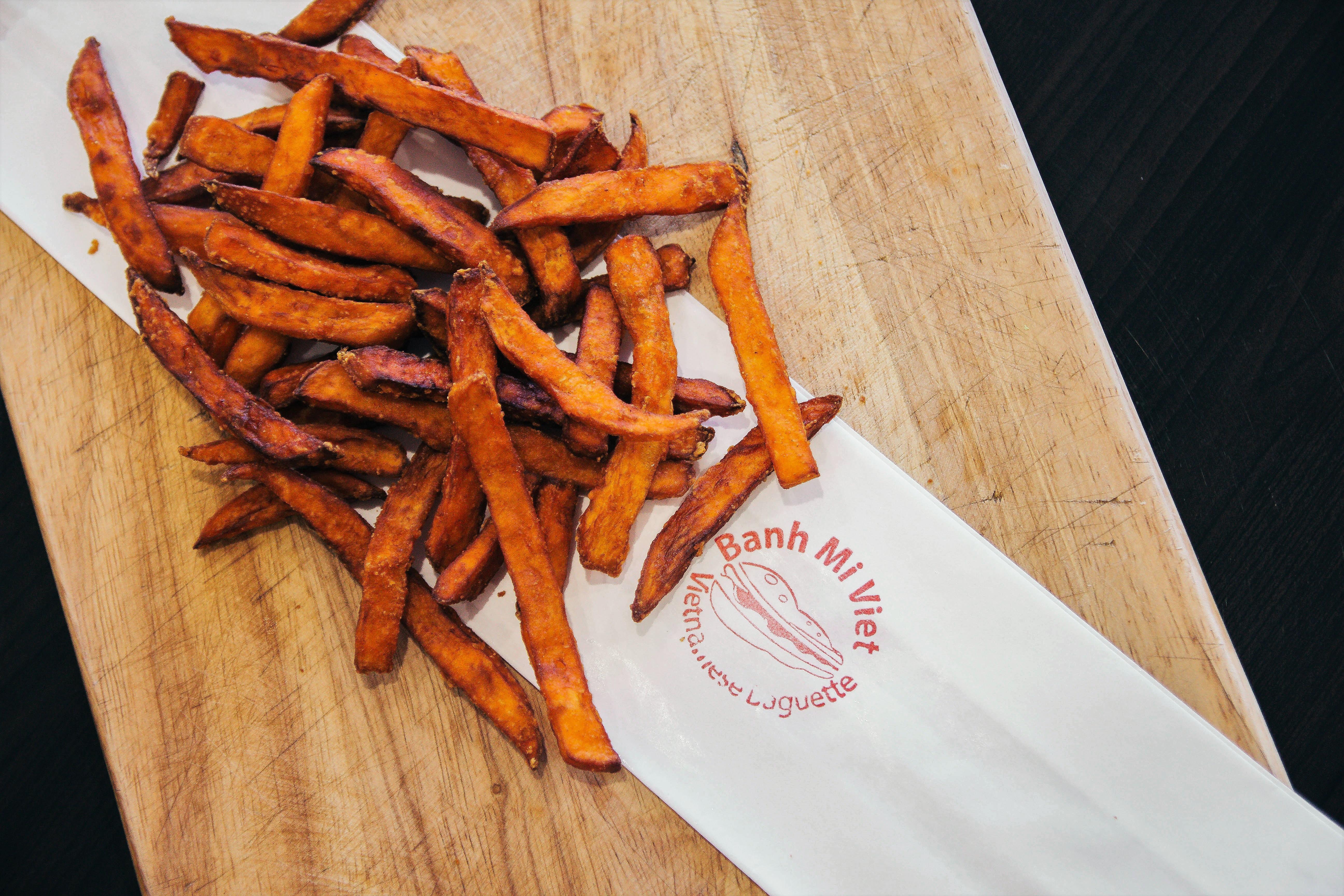 Crunchy Fries Sweet Potato Image