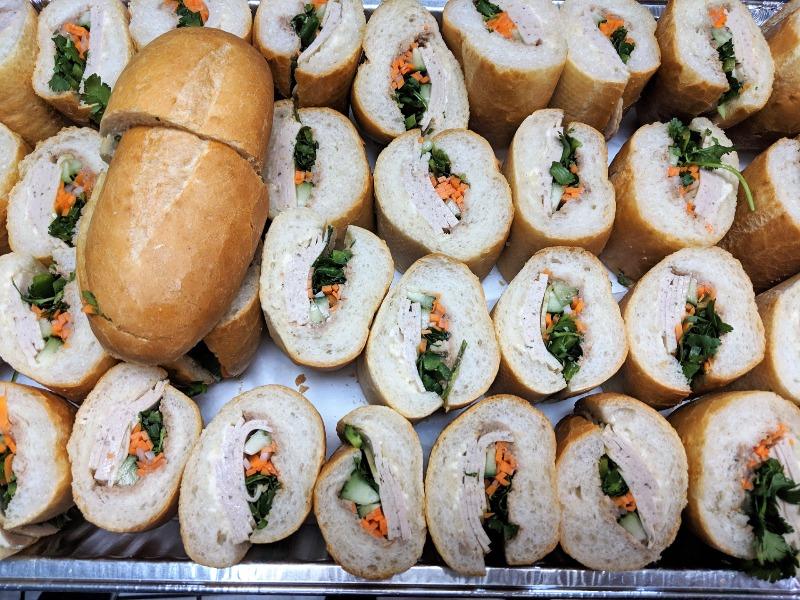 Cold Cut Sandwich Tray Image