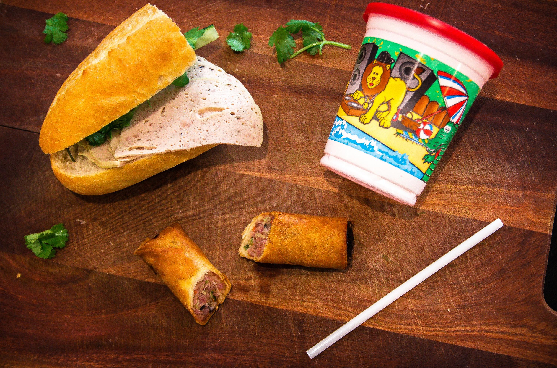 Porkroll Sandwich