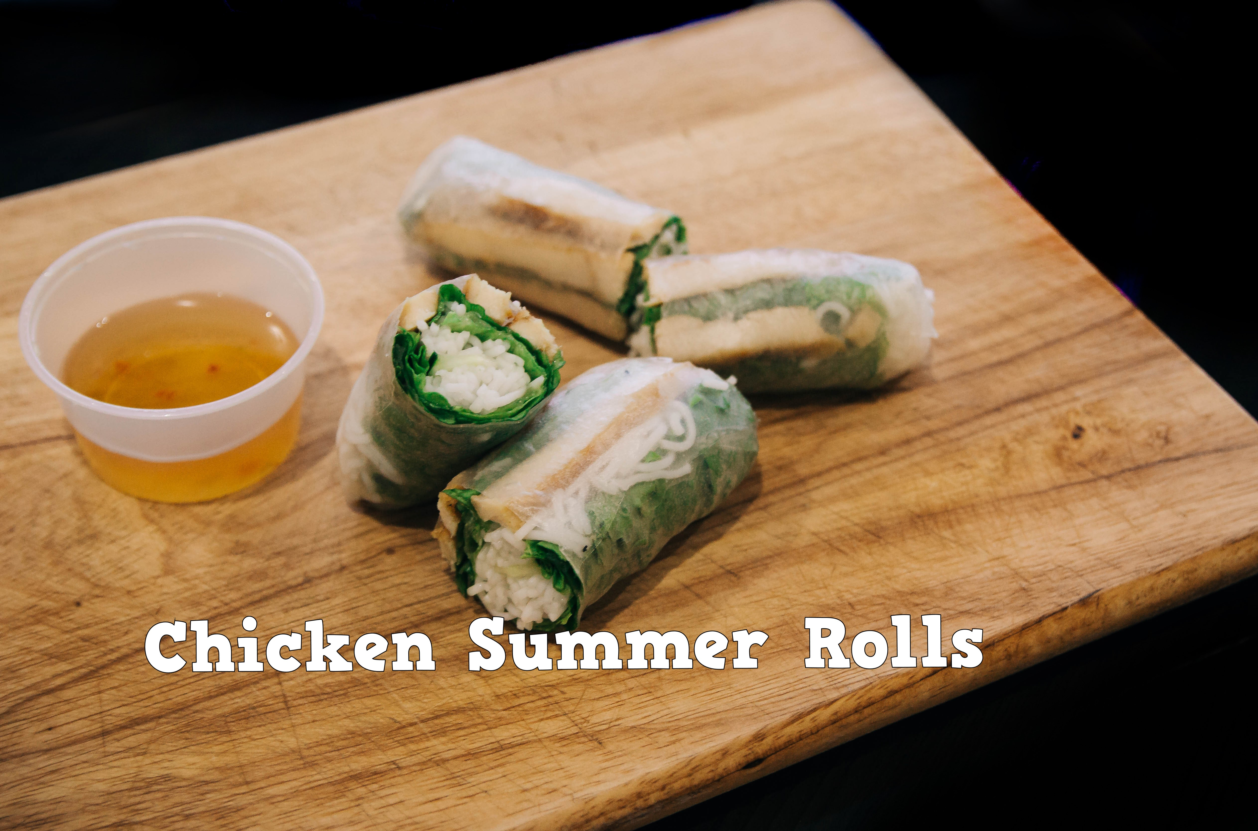 Chargrilled Chicken Summer Roll Image