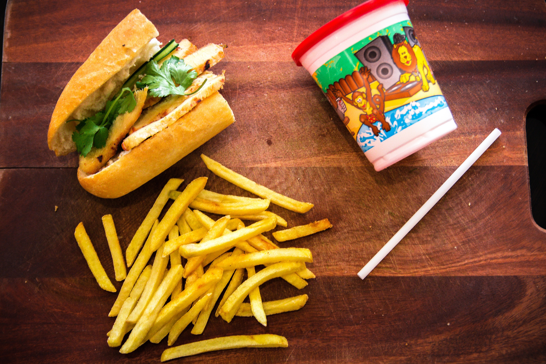 Grilled Chicken Sandwich Image