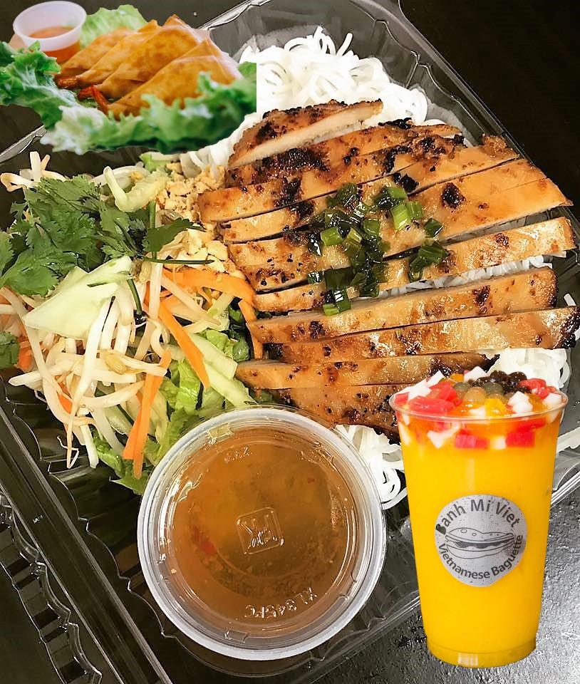 Grill Chicken Vermicelli Combo Image