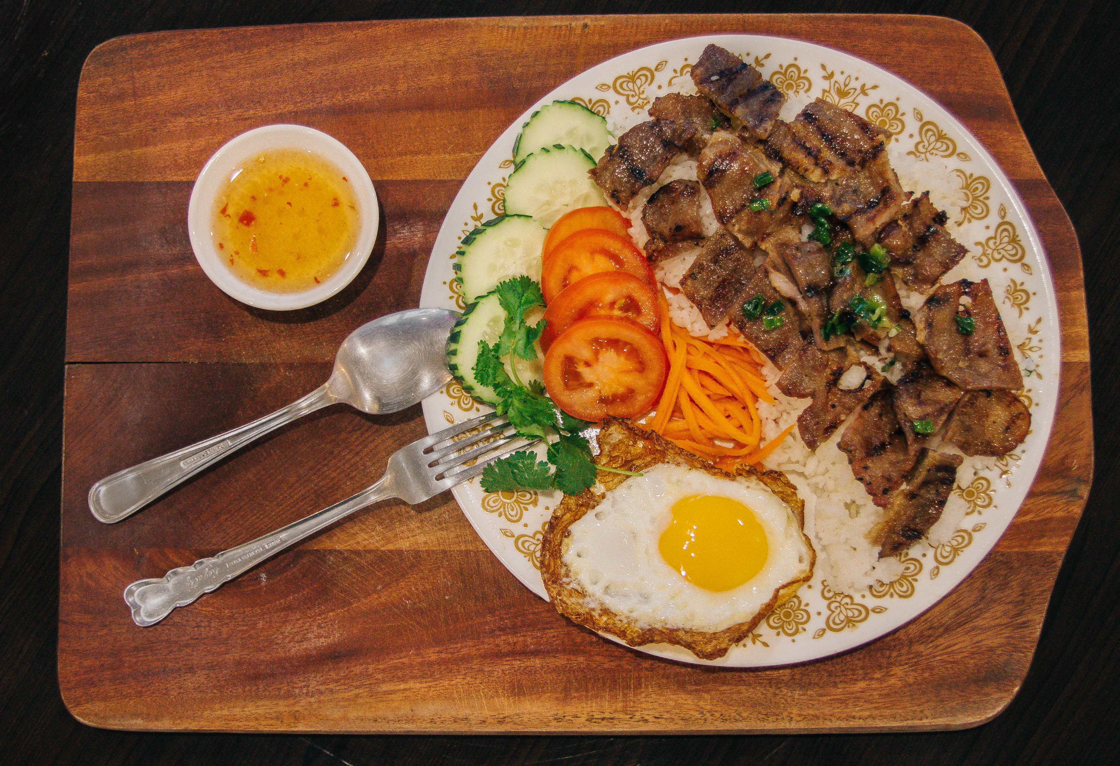 Grilled Pork Rice Bowl
