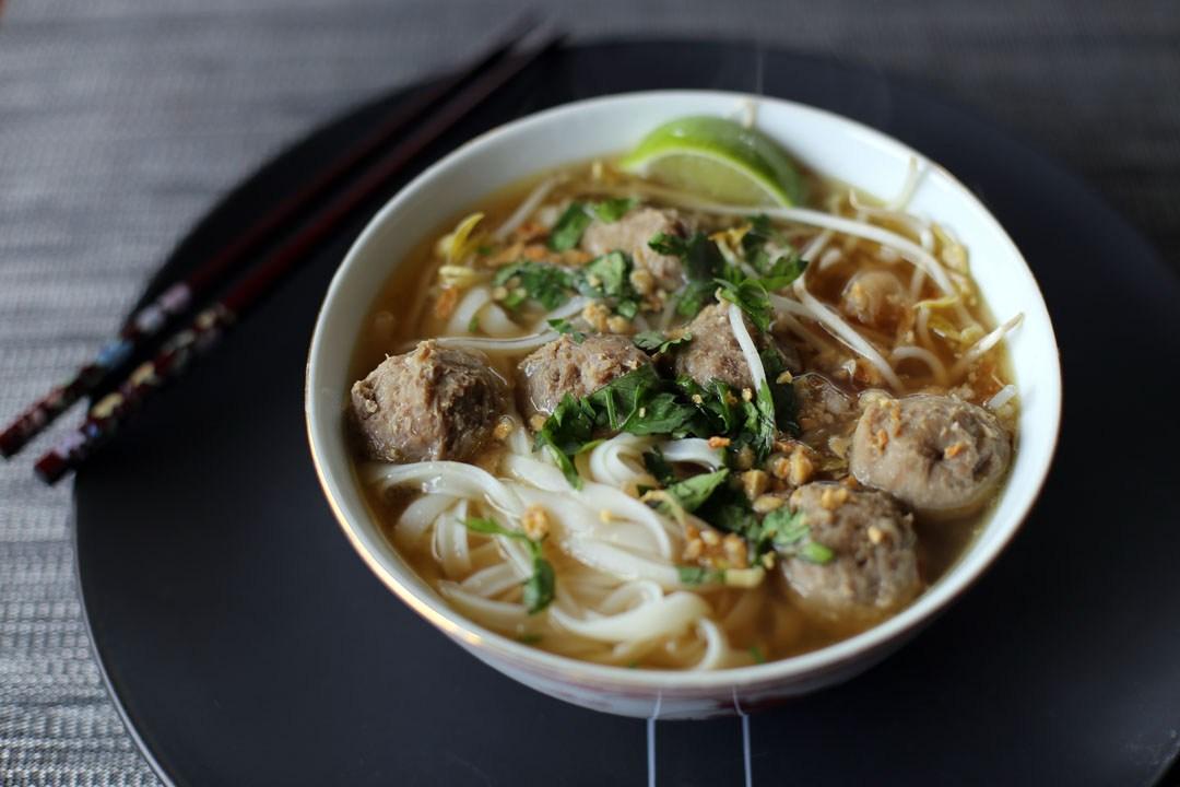 Meatballs Pho (Phở Bò Viên) Image