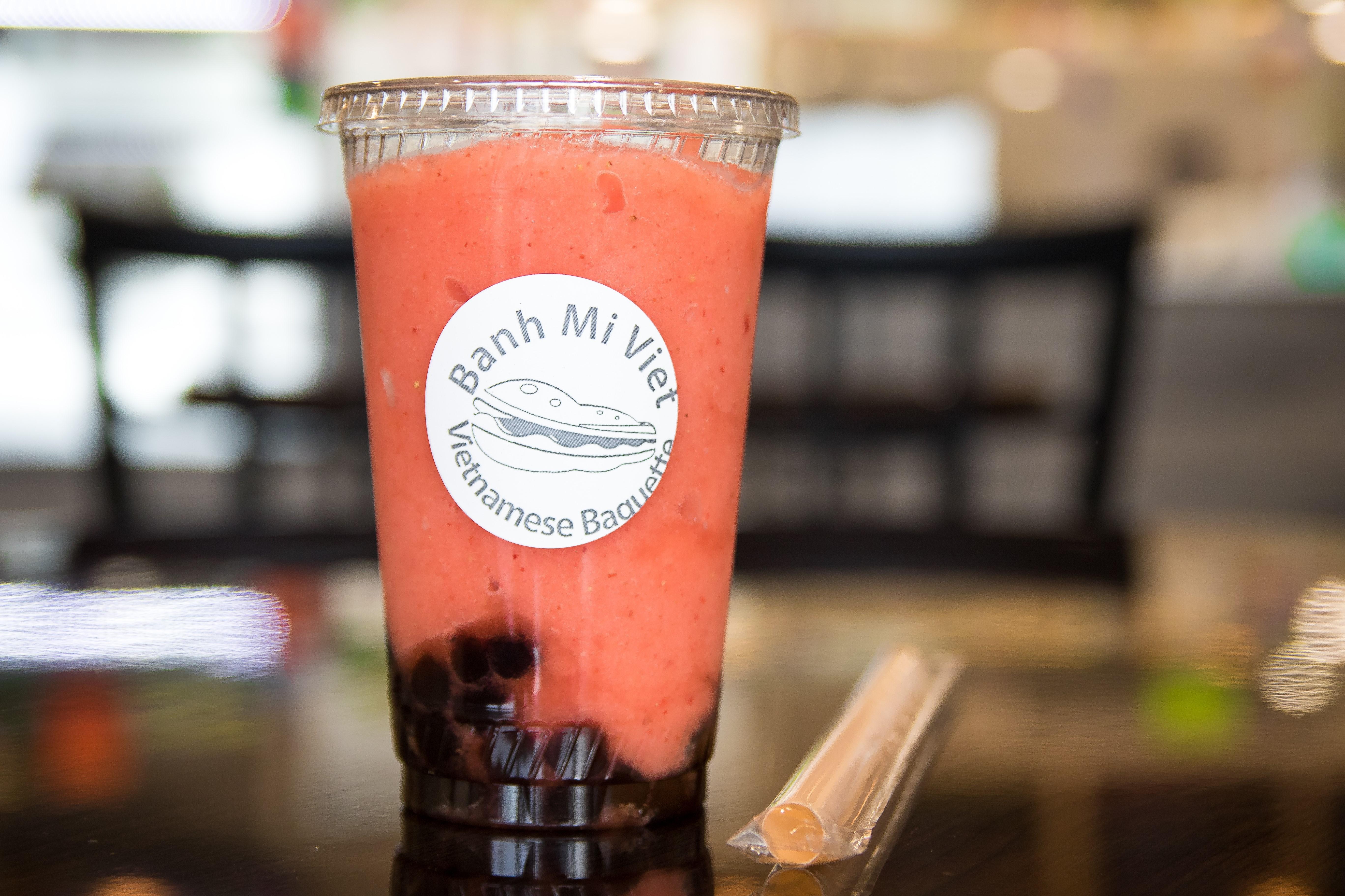 BMV Strawberry Smoothie Image