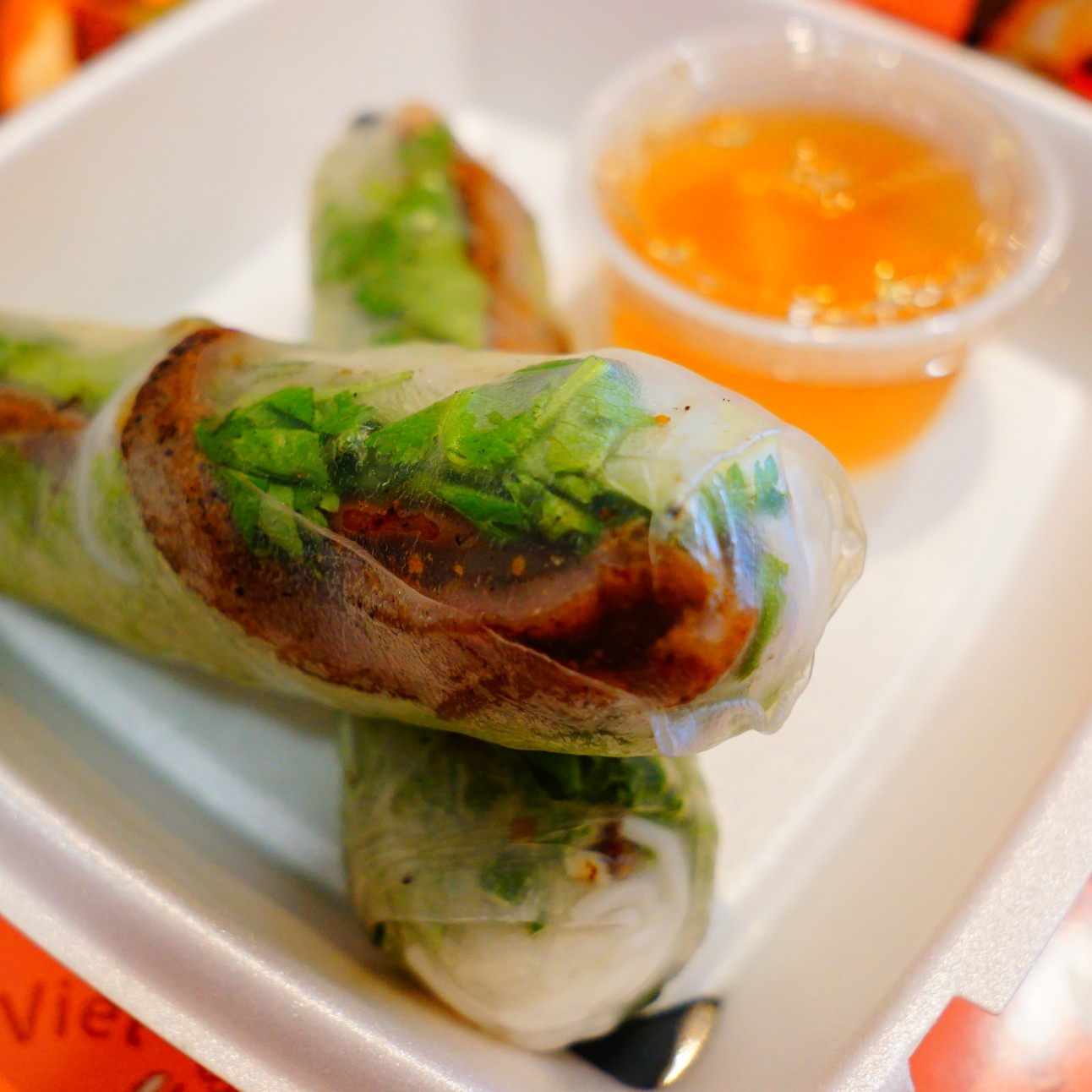 Chargrilled Pork Summer Roll Image