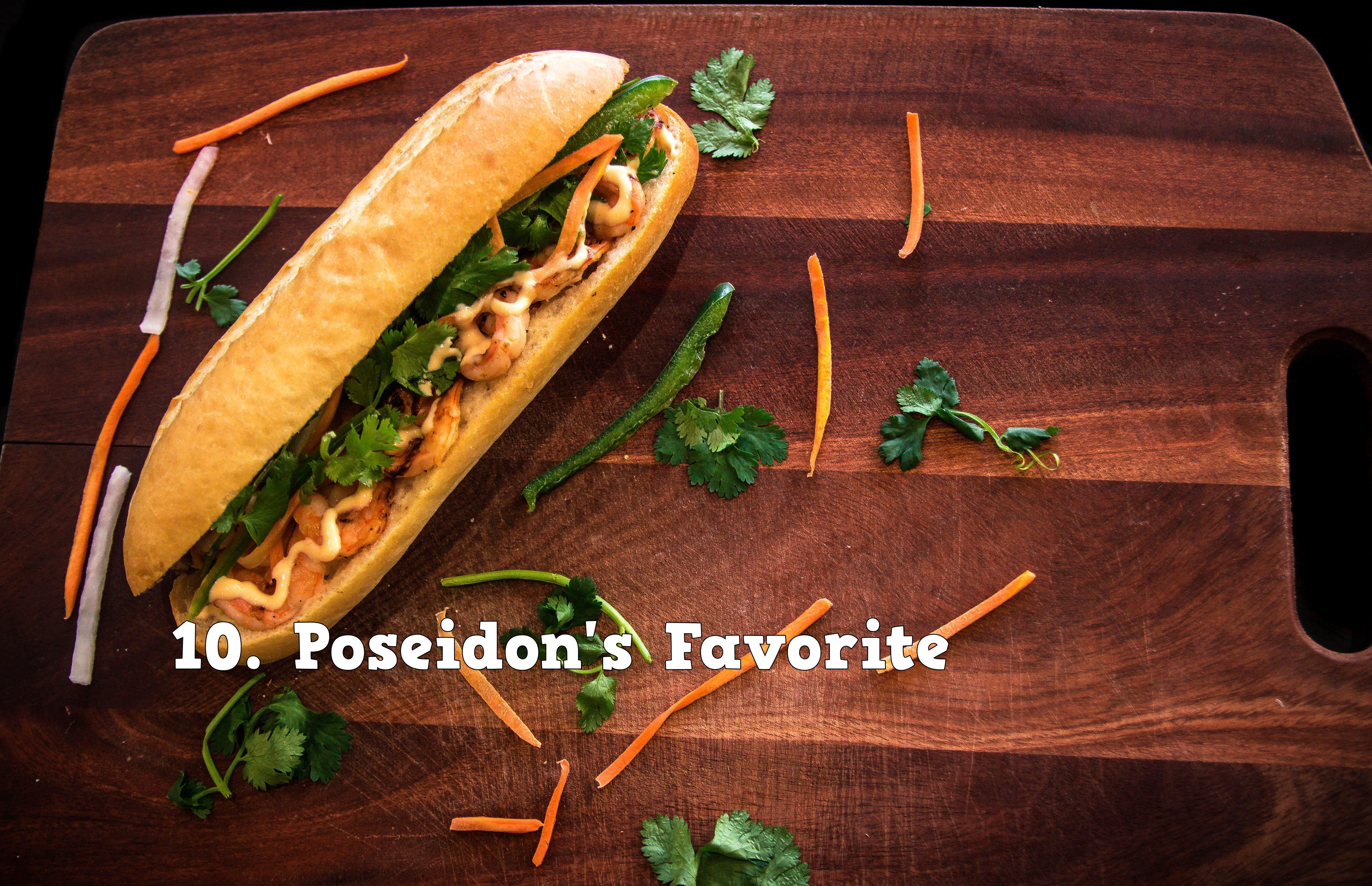 10.Poseidon's Favorite