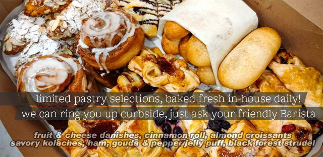 daily pastry selections