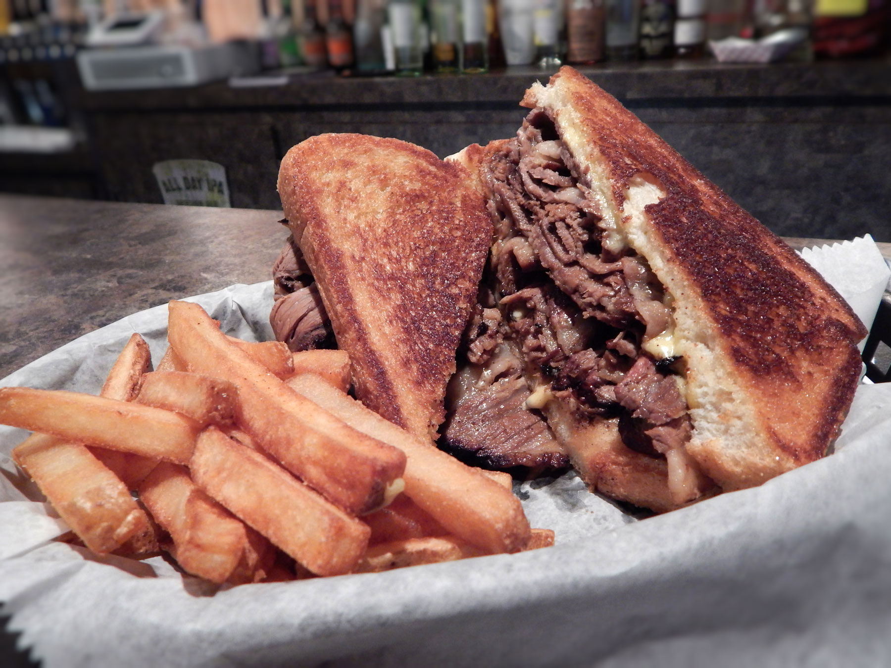 Smoked Brisket Sandwich Image