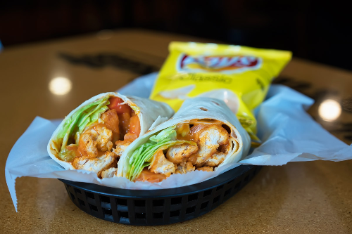 Crispy Buffalo Chicken Wrap Image