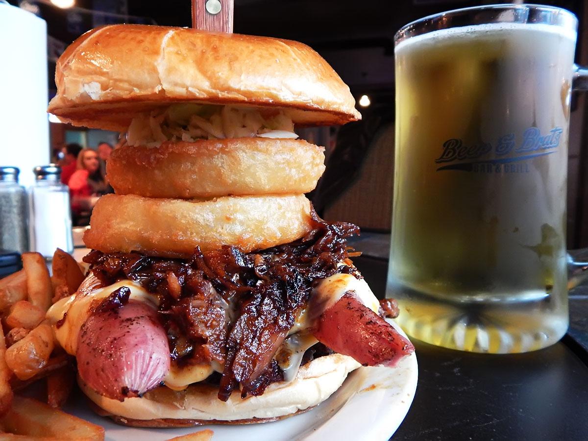 Mills Mountain Burger Image