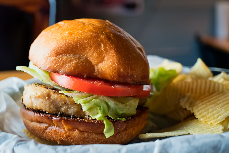 Lemon Pepper Chicken Sandwich Image