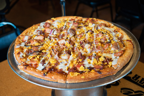 Bacon Chicken Ranch Pizza Image