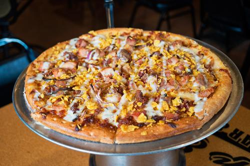 Bacon Chicken Ranch Pizza Image