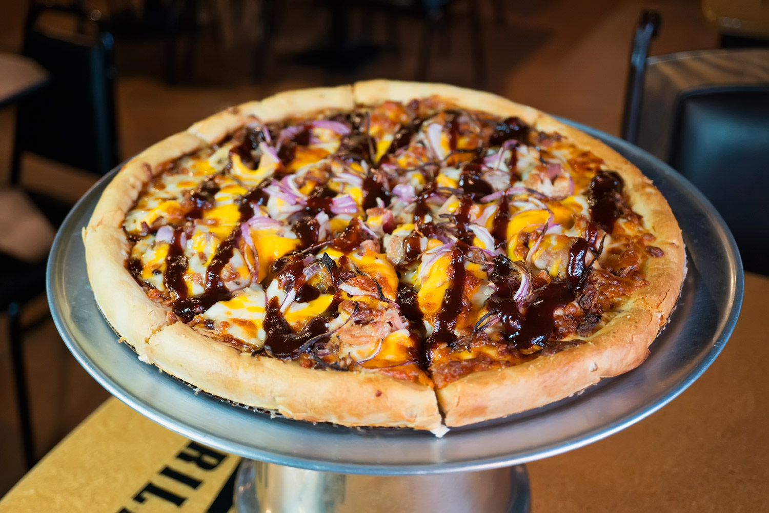 BBQ Chicken Pizza Image