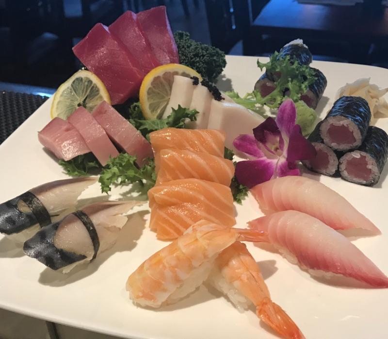 P6 Sushi & Sashimi Combo*