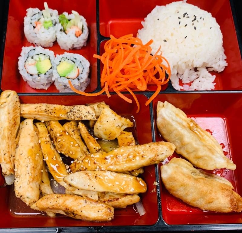 Teriyaki Bento Box Image