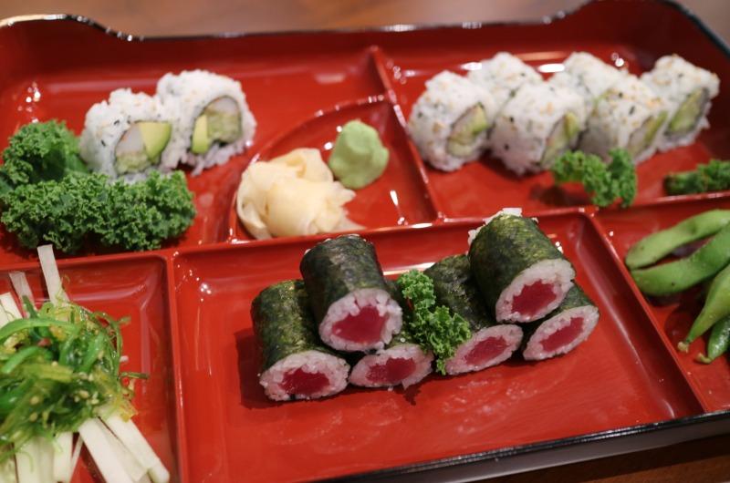 C6 Tuna or Spicy Tuna Roll* - Bento