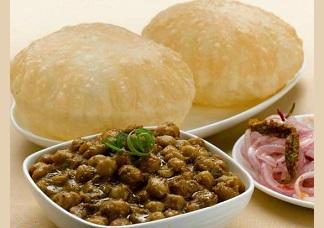 Puri Chole Image