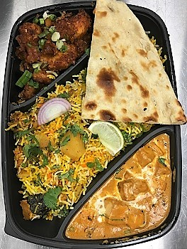 Veg Lunch Box Image